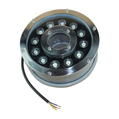 LED Underpool Light 12W DC 24V 960lm 6000K IP68 60°-Wholesale Price of LED Underpool Light 12W DC 24V 960lm 6000K IP68 60°